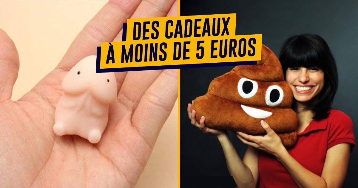 Top 500 Des Idées Cadeaux De Noël à Moins De 5 Euros Topito