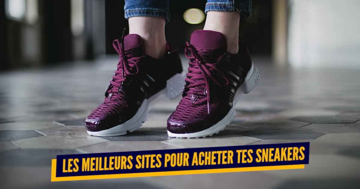 d615bc0c2553 Top 25+ des meilleurs sites pour acheter des sneakers, à vous les baskets  stylées | Topito