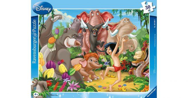 Un Puzzle Avec Les Personnages Du Livre De La Jungle