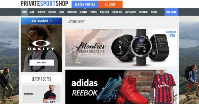 32c7c879418d Private Sport Shop : un site dédié aux ventes privées de matériels ...