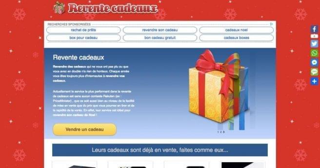 Top 10 Des Sites Pour Revendre Ses Cadeaux De Noël Topito