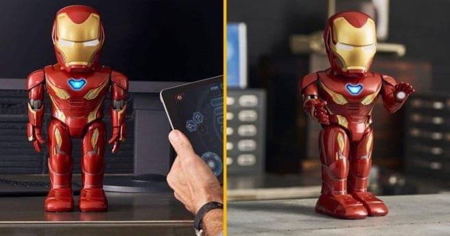 [TOPITRUC] Un robot intelligent d'Iron Man