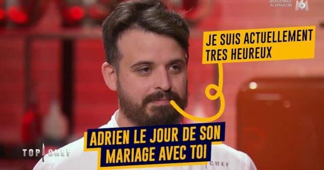 Top 10 des raisons d'épouser Adrien, le meilleur candidat de Top Chef