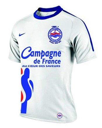 Maillot Caen Extérieur Saison 2010-2011