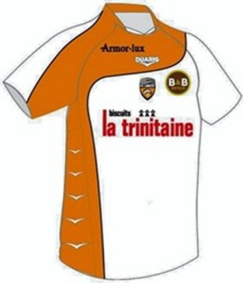 Maillot Lorient Extérieur Saison 2010-2011