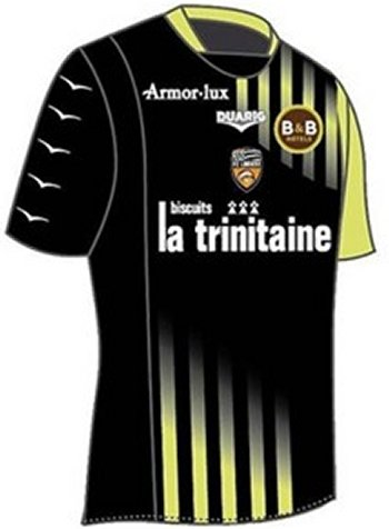 Maillot Lorient Third Saison 2010-2011