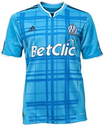 Maillot Marseille Extérieur Saison 2010-2011