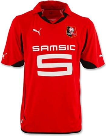 Maillot Rennes Domicile Saison 2010-2011