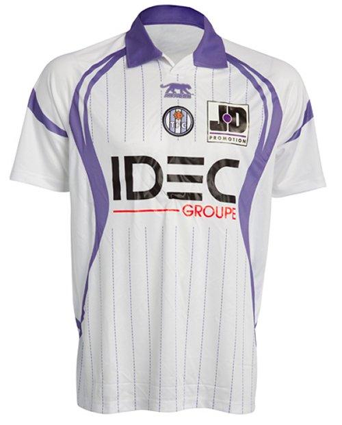 Maillot Toulouse Extérieur Saison 2010-2011
