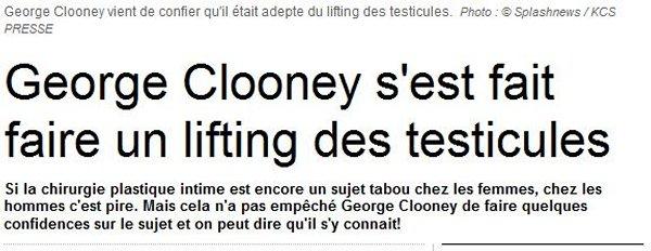 metro clooney