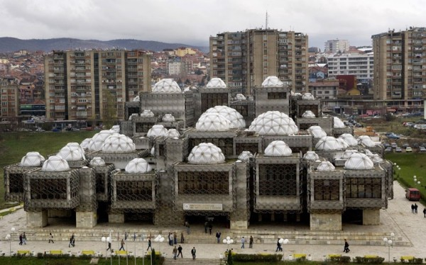 10 National Library - Pristina