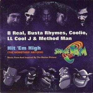 B Real, Busta Rhymes, Coolio, LL Cool J And Method Man - Hit Em High - CD Single - 1996
