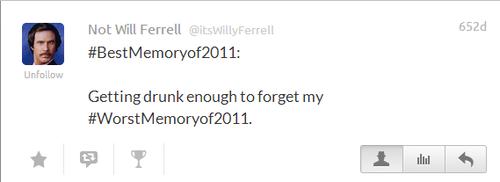 @itsWillyFerrell's (Not Will Ferrell) Best Twee3ts