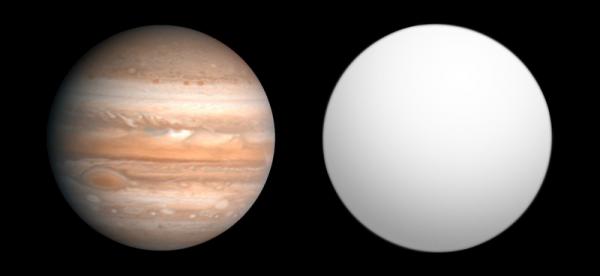 exoplanet comparaison