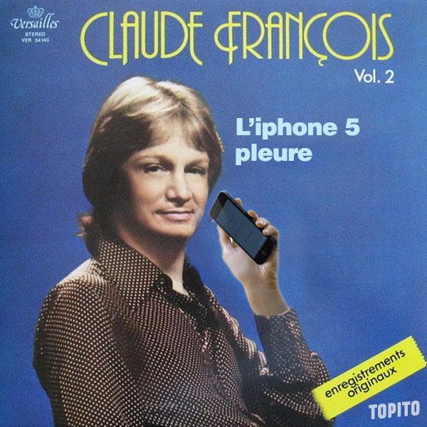 iphonepleure