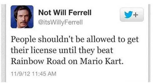 not will ferrell dqvv- Tumblr