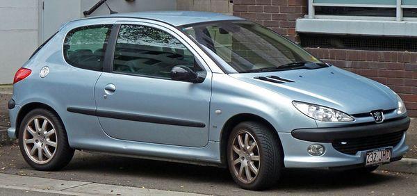 Peugeot 206 wikimedia