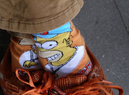 simpson socks