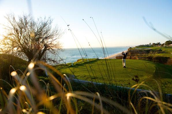16th hole at Vale do Lobo Royal Course, Algarve, Portugal