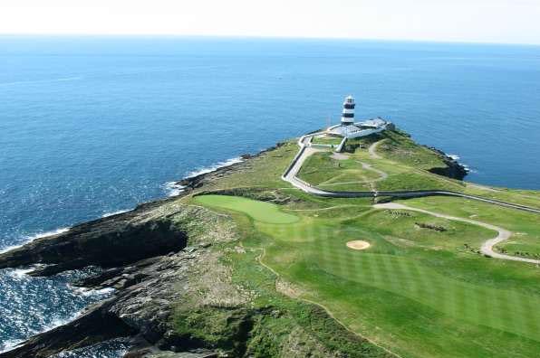 17th hole at Old Head, Kinsale, Ireland