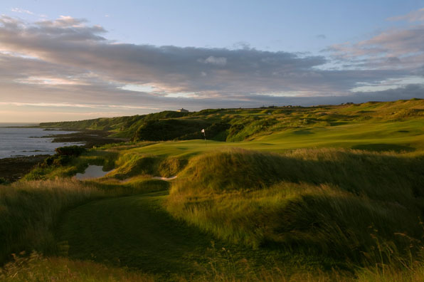17th hole at the Castle Course, St. Andrews, Scotland