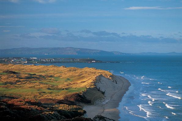 5th hole at Royal Portrush, County Antrim, Northern Ireland