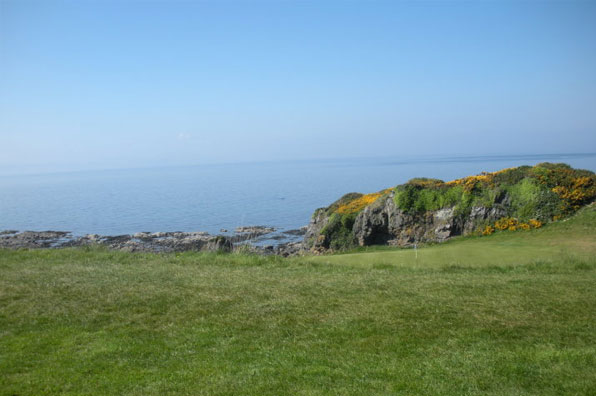 8th hole at the Kintyre Course at Turnberry, Ayrshire, Scotland