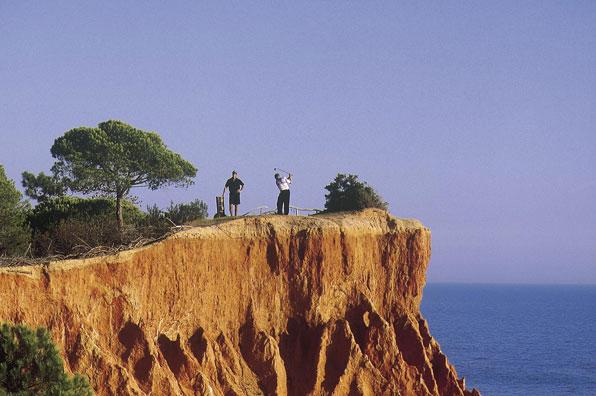 9th hole at Pine Cliffs, Algarve, Portugal