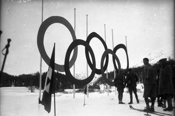 St. Moritz, Olympische Ringe
