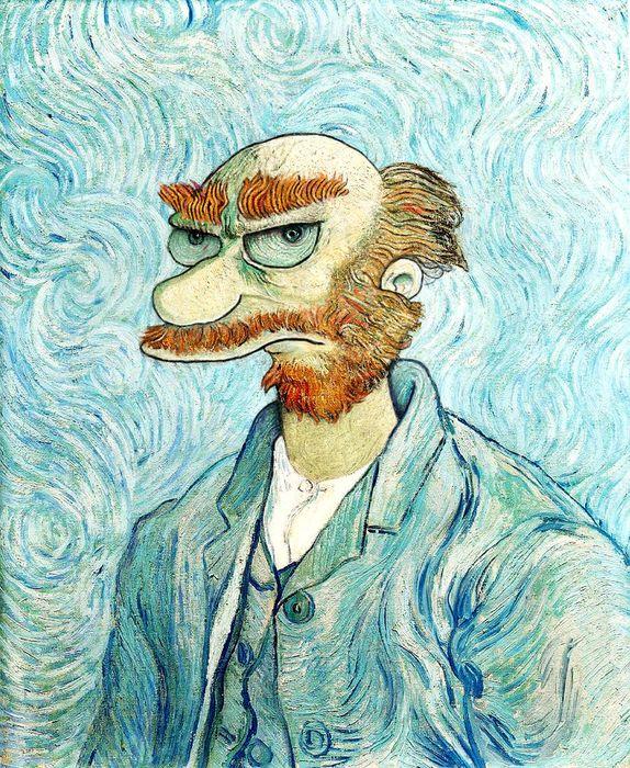 Groundskeeper_Willie_Van_Gogh_by_limpfish_resultat