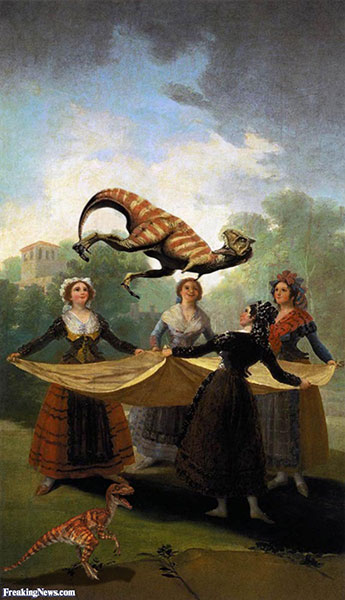 Women-Playing-with-Dinosaurs