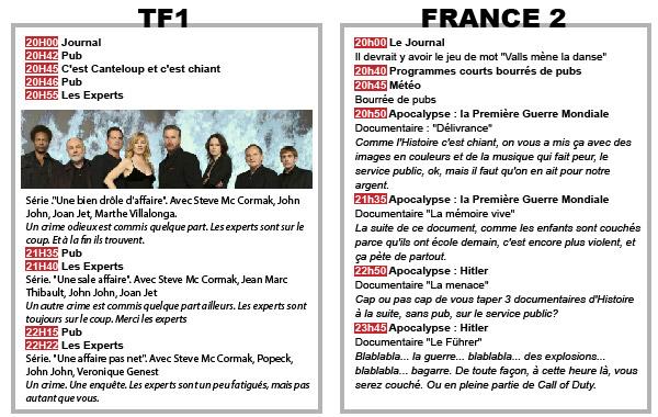 Programme TV-07