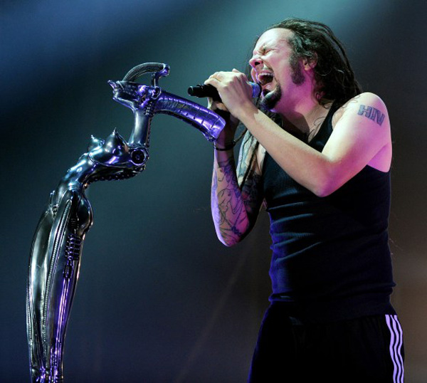 Korn Perform in Manchester