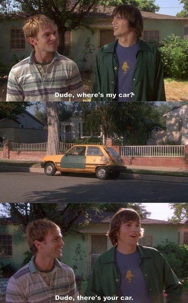 dude car