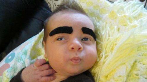 funny-baby-eyebrows-groucho