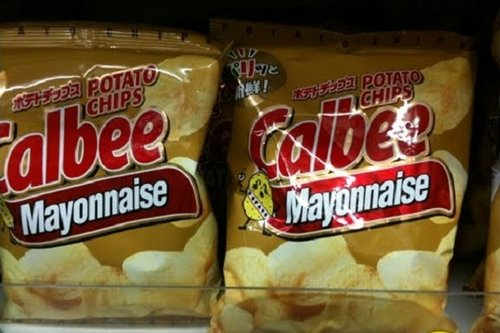 Mayonnaise-Chips