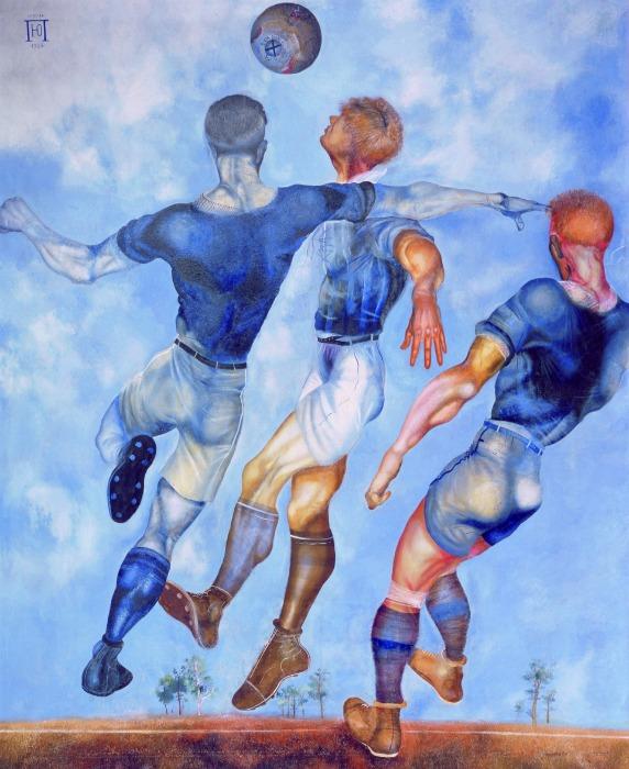 Yuri Pimenov - Footballeurs