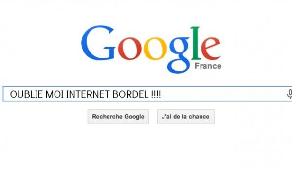 google-oubli