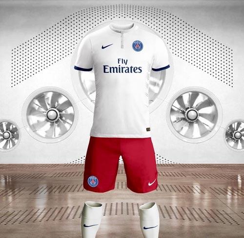 PSG-extérieur-2015-maillot-de-football