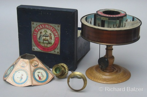 Praxinoscope 2 -1880 - Emile Reynaud