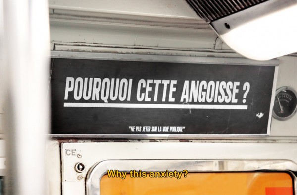angoisse