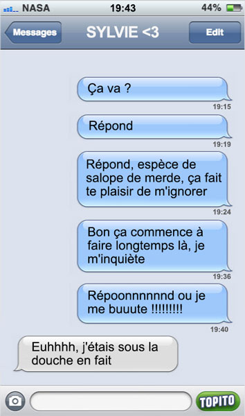 sms-douche