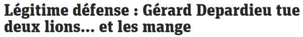 Depardieu defense