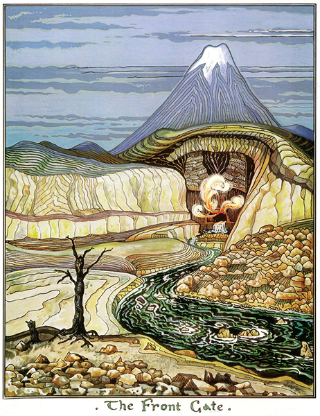 J.R.R._Tolkien_-_The_Front_Gate_(Colored_by_H.E._Riddett)