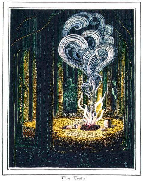 J.R.R._Tolkien_-_The_Trolls_(Colored_by_H.E._Riddett)