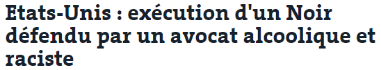 avocat raciste