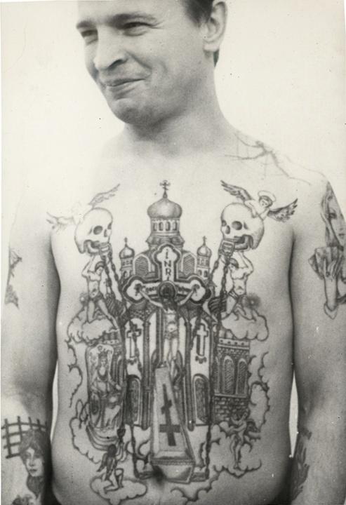 top 15 des tatouages de prisonniers russes décodés, le message
