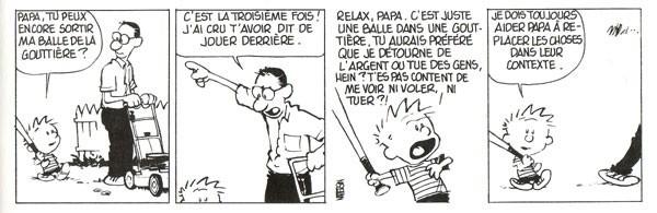 Top 10 des strips cultes de Calvin et Hobbes, la vie c'est mieux ...