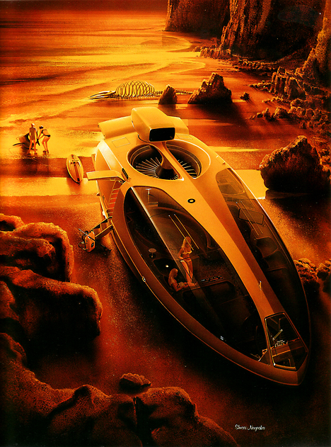 Hovercraft for leisure use
