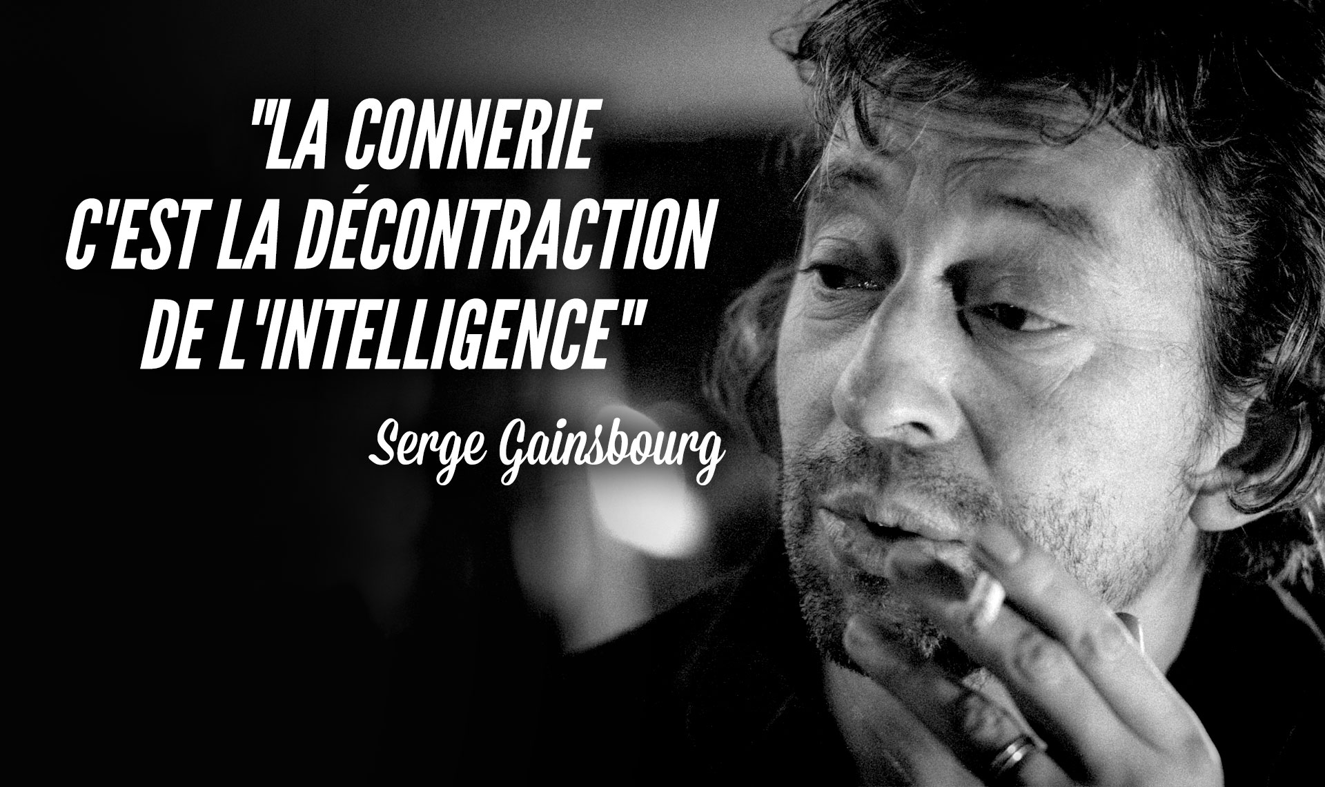 Top 15 des plus brillantes citations de Gainsbourg, avec un peu de Gainsbarre aussi… | Topito